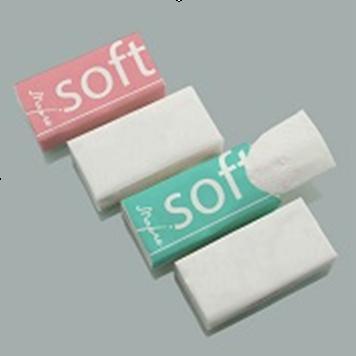 Носові хусточки Soft 10шт/уп рожево - бірюзові