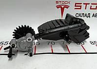 Зап. части для авто Tesla. Масляный насос в сборе редуктора заднего мотора SPORT (1002633) Tesla model S