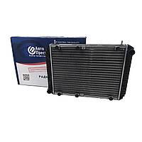 Радиатор водяного охлаждения Волга 3110, 31105 (2 рядн.алюм.) (пр-во Авто Престиж)
