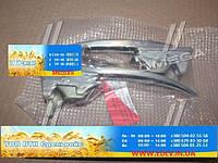 Ручка двери наружняя хром УАЗ 452 комплект 2 шт. в сборе. с ключом (пр-во г.Ульяновск) 452-6105150