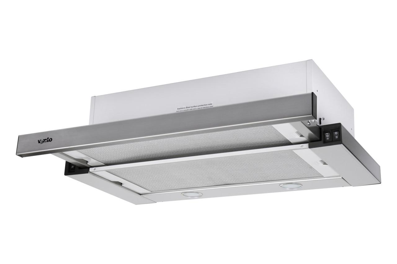 Витяжка VENTOLUX GARDA 60 INOX (800) SMD LED нержавійка 60 см