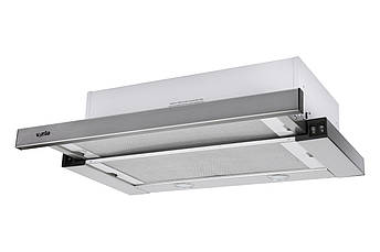 Витяжка VENTOLUX GARDA 60 INOX (800) SMD LED нержавійка 60 см, фото 2