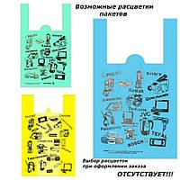 """Пакет  майка """"Электроника""""  42 x 64 см /(уп 50 шт), фото 1"""