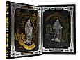"""Книга в кожаном переплете и подарочном футляре """"Рубайят"""" Омар Хайям, фото 2"""