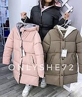 Куртка женская зимняя с капюшоном