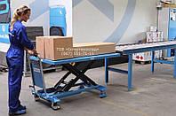 Стол передвижной подъёмный гидравлический 1000кг на высоту 1000мм