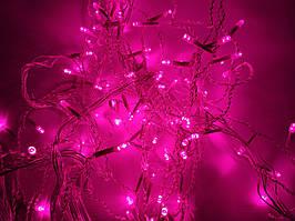 Светодиодная гирлянда 4м * 0,6м IP44 розовый ECOLEND