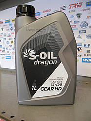 Трансмиссионное масло S-oil 75w90
