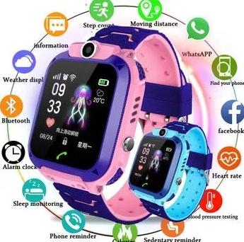 Детские смарт часы водонепроницаемые умные Smart watch с GPS.ОРИГИНАЛ!
