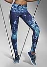 Леггинсы для фитнеса Bas Bleu Laguna цветной принт Польша, фото 2