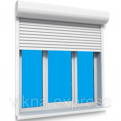 Защитные Роллеты Steko на 3-х ств. окно