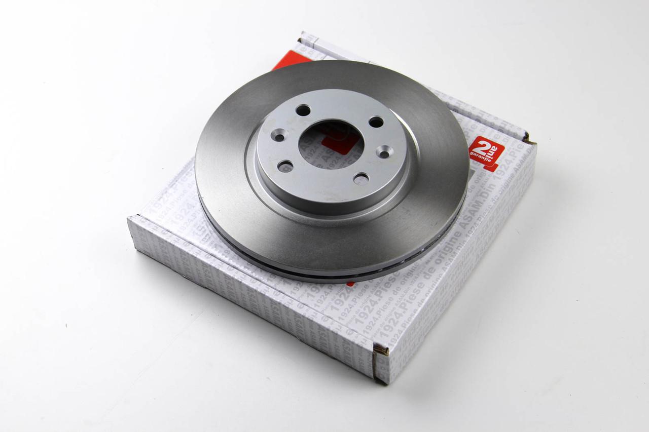 Тормозной диск передний Renault Megane 1997- (+ABS) (259x20.6) Asam