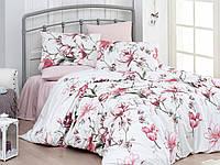 Постільна білизна First Choice Layla Somon Ranforce 200-220 см білий