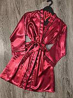 халат для дома женский под пояс