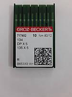 Иглы GROZ-BECKERT DPx5 №80 (уп.10шт.)