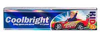 Зубная паста для детей Coolbright Kids Boys для мальчиков от 3-12 лет 105мл