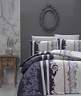 Постельное белье First Choice Wals Indigo Ranforce 200-220 см синий