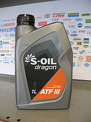 Трансмиссионное масло S-oil ATF  III