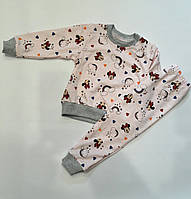 Пижама детская двунитка разные расцветки 92-116 см