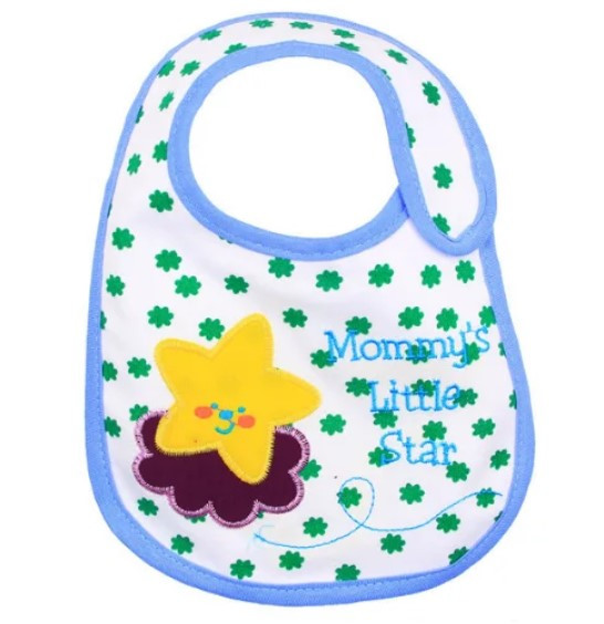 Слюнявчик непромокаемый Carter´s  Mammus littlel star