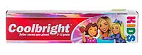 Зубная паста для детей Coolbright Kids Girls для девочек от 3-12 лет 105мл