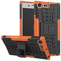 Чехол Armor Case для Sony Xperia XZ Premium Оранжевый