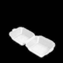 Ланч-бокс БЕЛЫЙ НР-7 УПАКОВКА 15шт(мини-сендвич)130х143х60(1ящ/250шт)