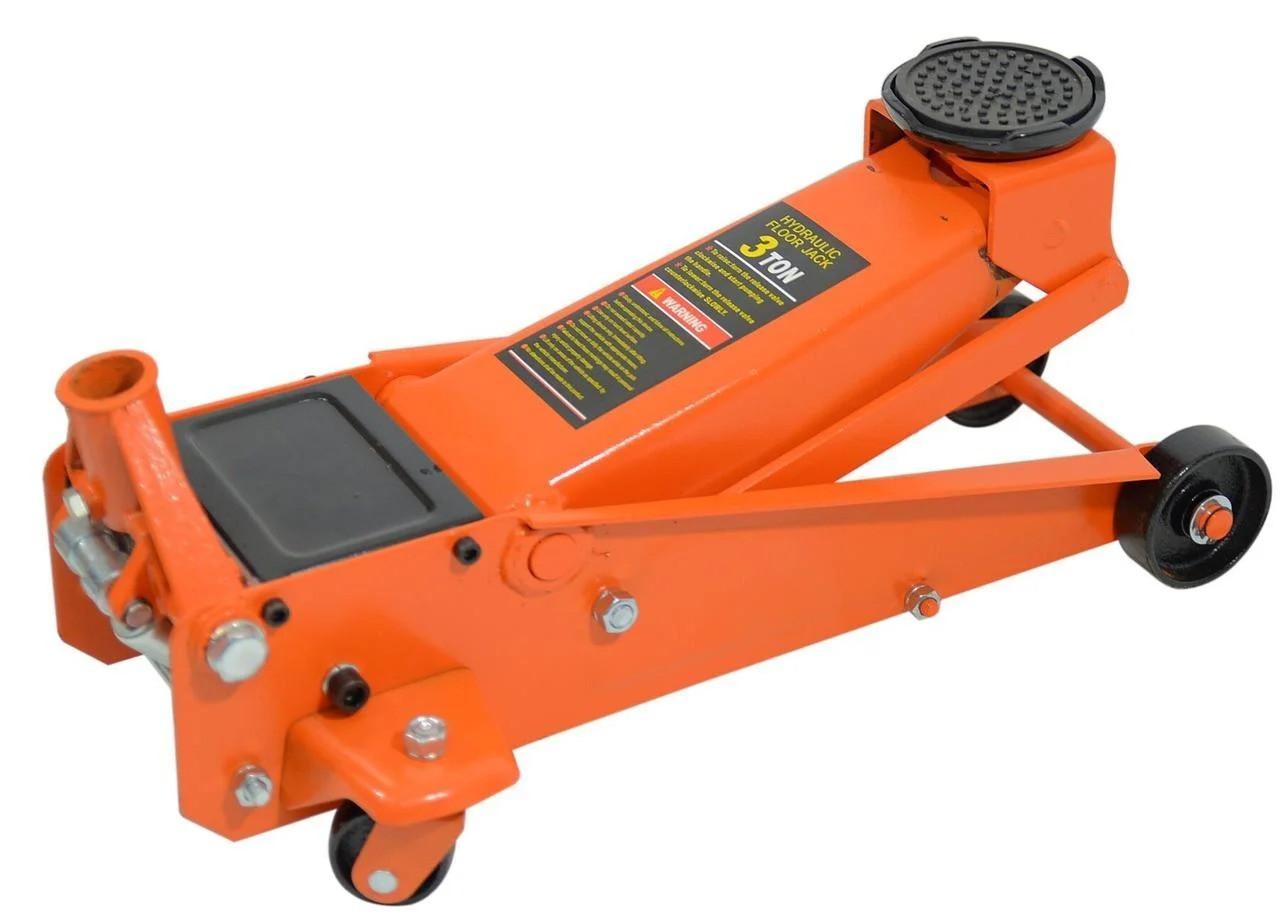 Автомобильный домкрат быстрый подкатной напольный 3 т Siker (домкрат швидкий підкатний підлоговий)