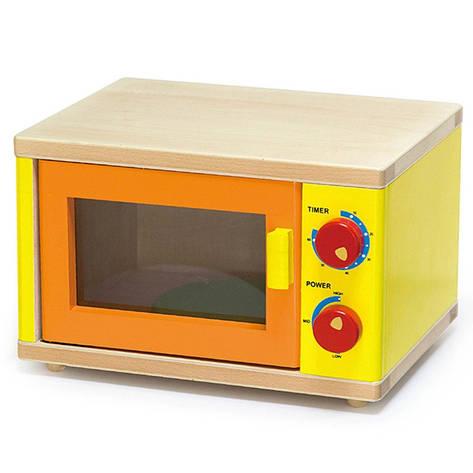 Микроволновая печь деревянная Viga Toys 58595, фото 2