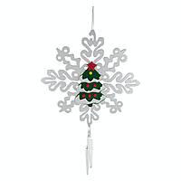 Декор новогодний Снежинка