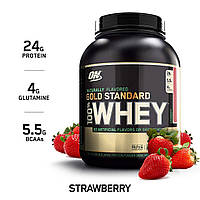 ON Gold Standard 100% Whey Naturally 2.18 kg (Клубника), фото 1