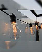 """LED гирлянда из больших ламп """"Light LUX"""" на 10 шт. лампочек (улица/ дом)"""