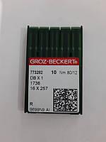 Иглы GROZ-BECKERT DBx1 №80 (уп.10шт.)