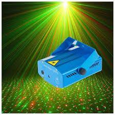 Лазерный проектор Диско шар Комнатный 4 в 1 Laser стробоскоп (точки)