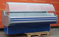 Холодильная витрина гастрономическая «Технохолод Невада» 2.0 м. (Украина), LED – подсветка, Б/у, фото 1