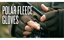 Перчатки-варежки флисовые Trakker Polar Foldback Gloves