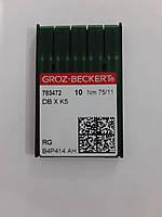 Иглы GROZ-BECKERT DBxK5 №75 (уп.10шт.)