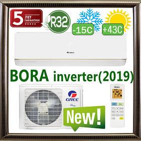 Серия Bora Inverter R32 до -15C (new 2019) кондиционеры GREE