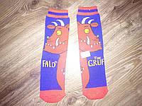 Детские теплые носки, гольфы Груффало для мальчика, девочки TU