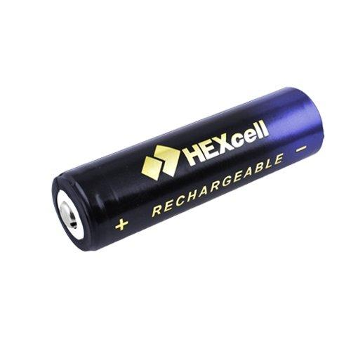 Акумулятор 18650, HEXcell, 10000mAh, фіолетовий