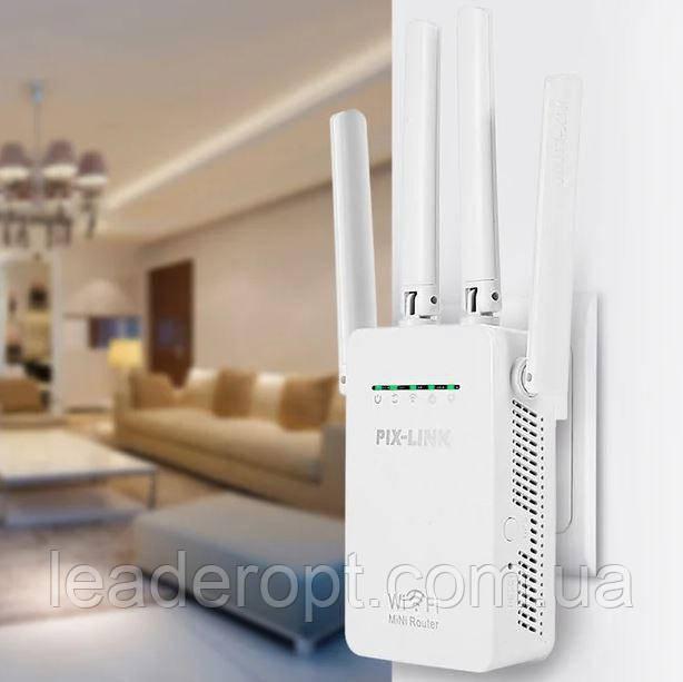 [ОПТ] Усилитель Wi-Fi сигнала PIX-LINK LV-WR09. Репитер PIX-LINK LV-WR09