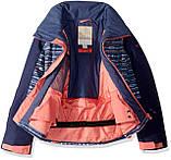 Гірськолижна куртка Roxy Little Sassy Girl для дівчаток 12 років 148-154см | Дитяча лижна \ сноубордична, фото 4
