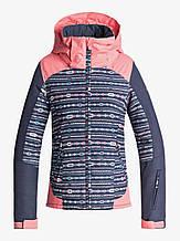 Горнолыжная куртка Roxy Little Sassy Girl  для девочек 12 лет 148-154см | Детская лыжная \ сноубордическая