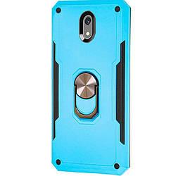 Чехол для Xiaomi Redmi 8a, SG Ring Color, ударопрочный, магнитный держатель