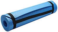 Коврик для занятий, каремат (MS 2129) Синий 7мм.
