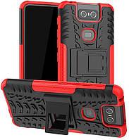 Чехол Armor Case для Asus Zenfone 6 / ZS630KL Красный
