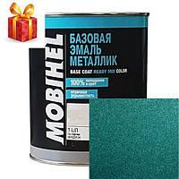 Атокраска Mobihel металлик 385 изумруд 1л.