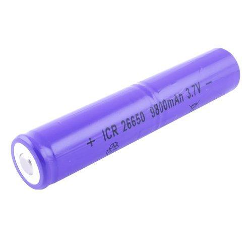 Акумулятор 26650, ICR, 9800mAh 3.7 V (фіолетовий)