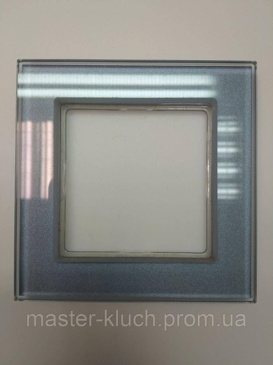Рамка одинарная Jung A-creation стекло
