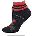 Шкарпетки оптом жіночі махрові з відворотом, фото 2